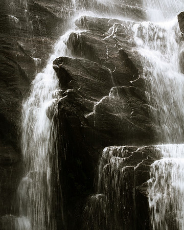 Black Waterfall #1
