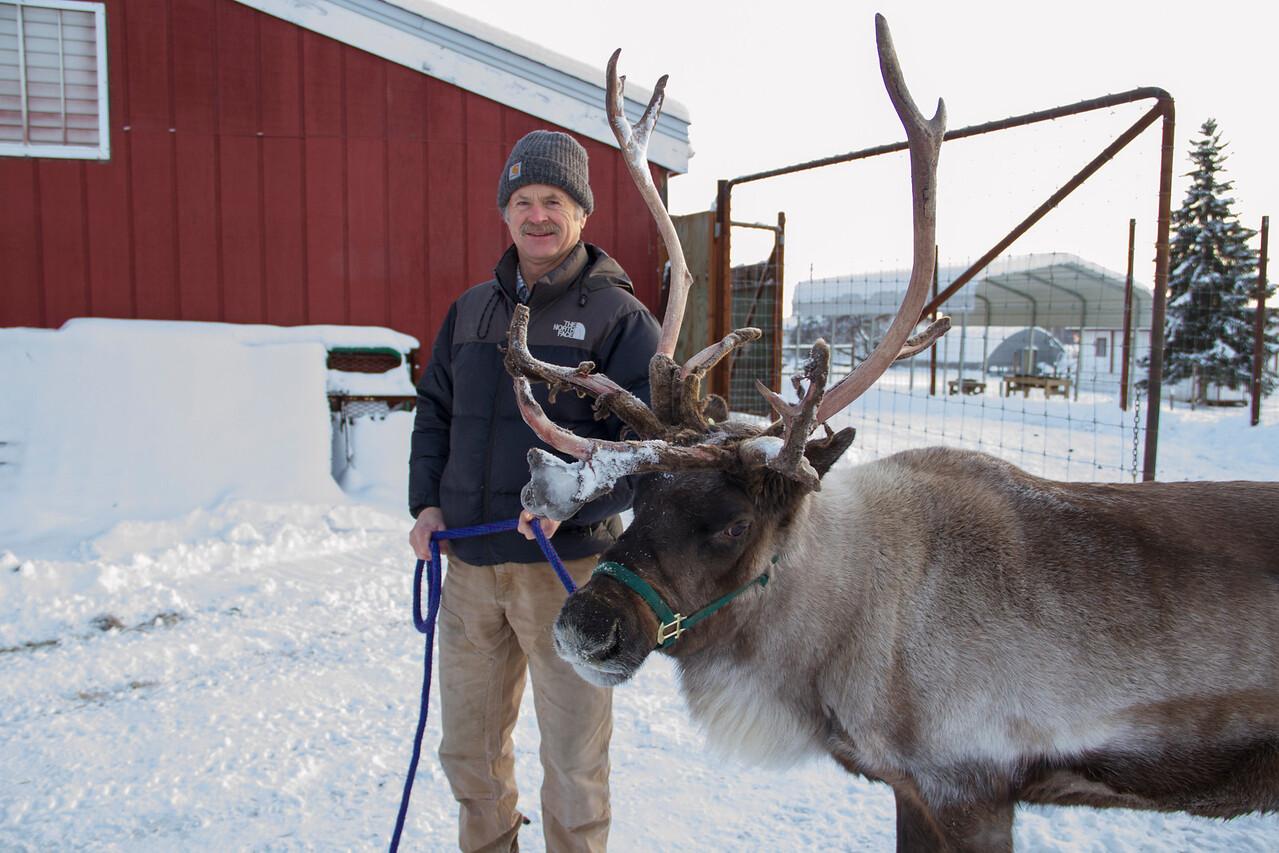 Greg Finstad, Associate Professor, Reindeer Research Program, AFES