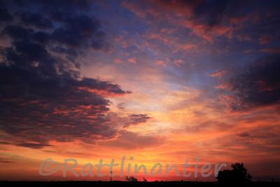 Sunrise at Goose Lake Prairie