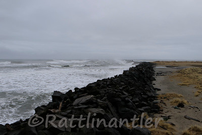South Jetty - Where the Columbia River enter the Pacific Ocean