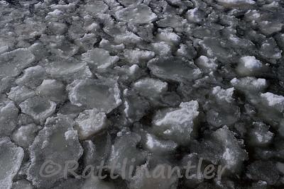 Lake Michigan Ice-Out