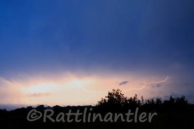 Lightning over the Prairie