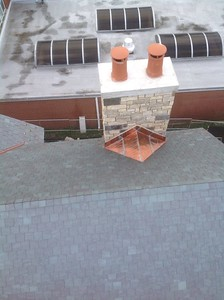Natural Slate Roofing, Copper Roofing and Copper Gutters. -  Kenilworth IL