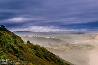 Foggy morning in Big Sur