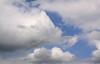 Beautiful fall weather clouds.