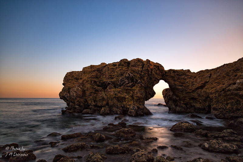 Hidden Arch at Corona Del Mar