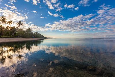 Sunrise over the Coral Coast
