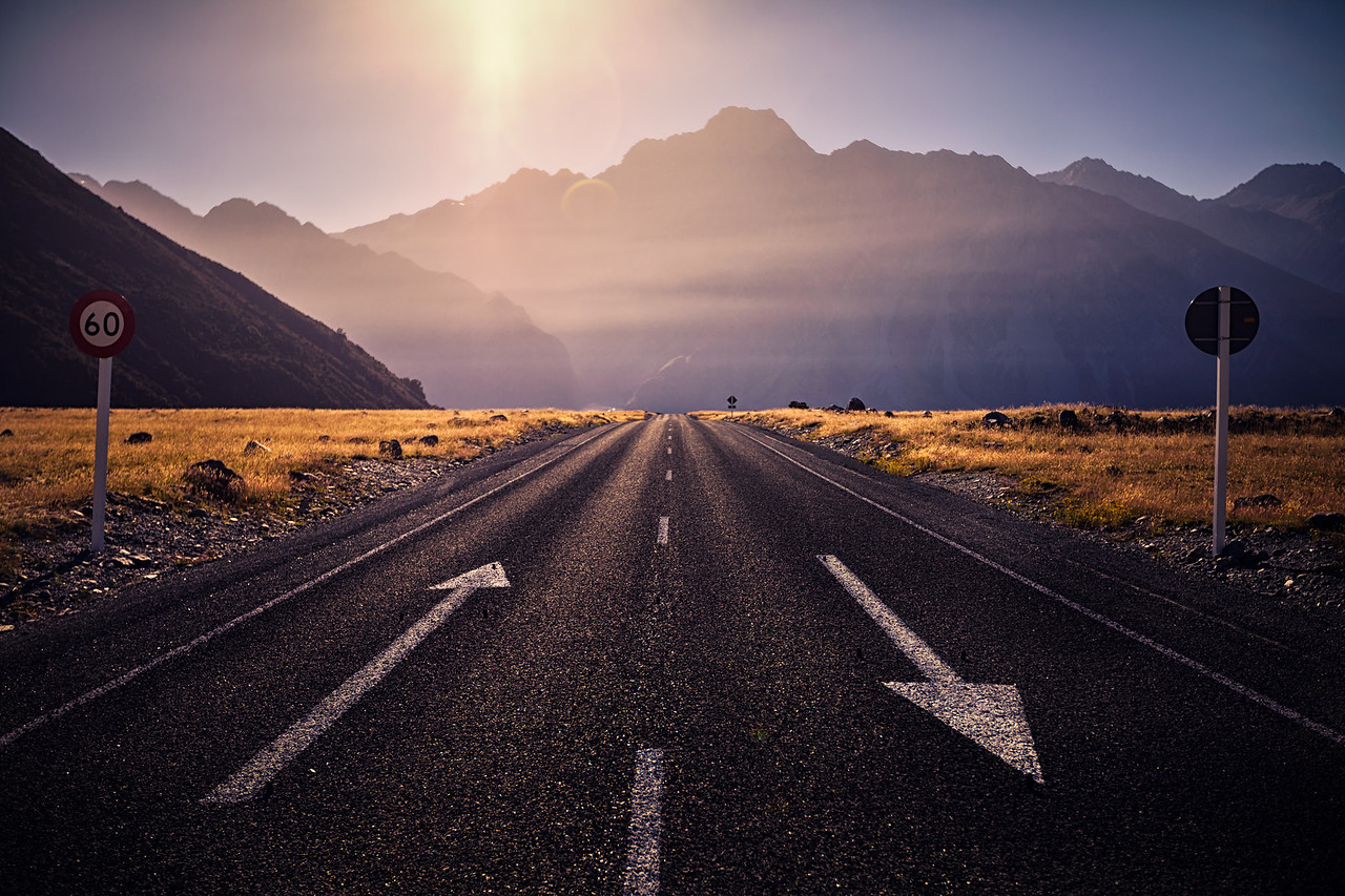 Road to the Tasman