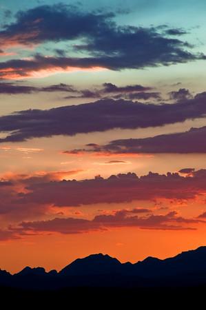 Sedona, AZ - Colorful Sunset