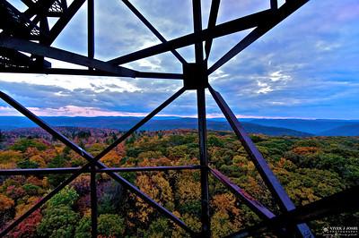 Olson Observation Tower, Black Fork, WV