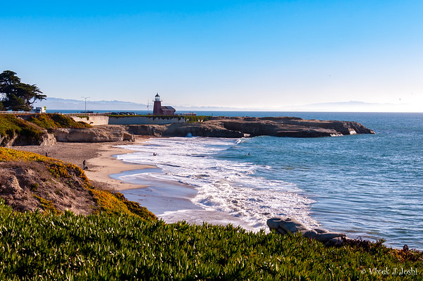 Light House Point, Monterey Bay, California, Santa Cruz