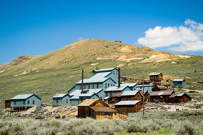 Gold processing factory - Bodie, California ghost town