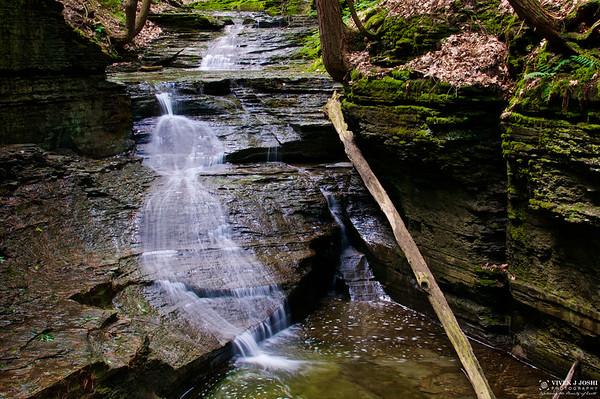 Lick Brook Falls, NY