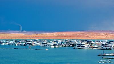 Wahweap Marina on Lake Powell