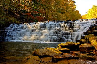 A Picturesque Jones Mill Run Dam-Laurel Hill State Park, PA