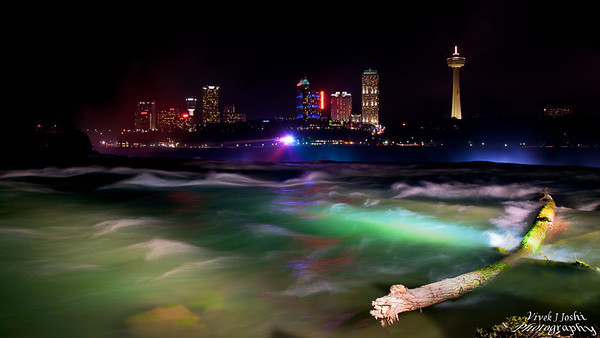 Night Illumination of Niagara River
