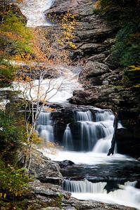 Details of Cullasaja Falls