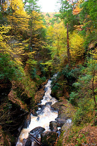 Lower Gorge Falls, Bushkill Falls