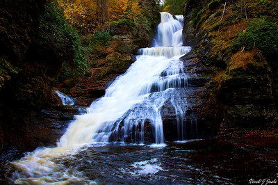 Dingmans Falls, Delaware Water Gap.This is another Higher Falls which has a vertical drop of 130 ft.