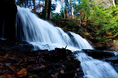Mohawk Falls,Ricketts Glen State Park