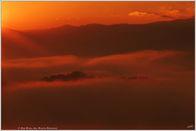 """Dawn's Mountain Light"""