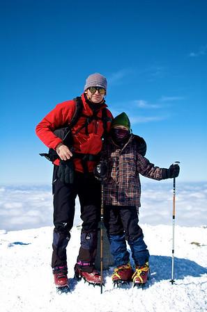 Montaña invernal 2010