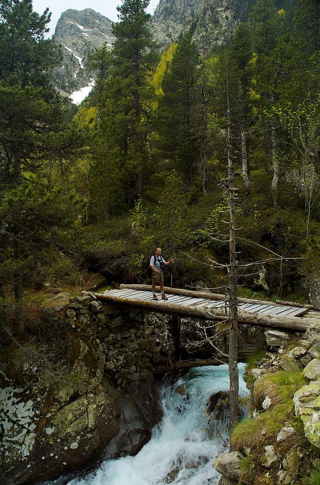 Puente de l'Aigüeta. La Ball.