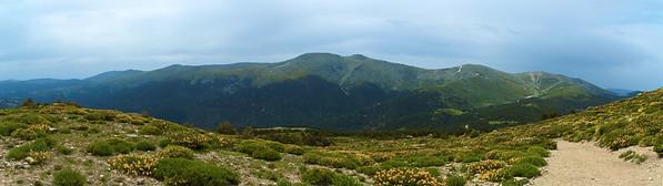 Una semana más tarde, Cuerda Larga desde la subida a Dos Hermanas, camino a Peñalara. Esta excursión la hice con Indix.