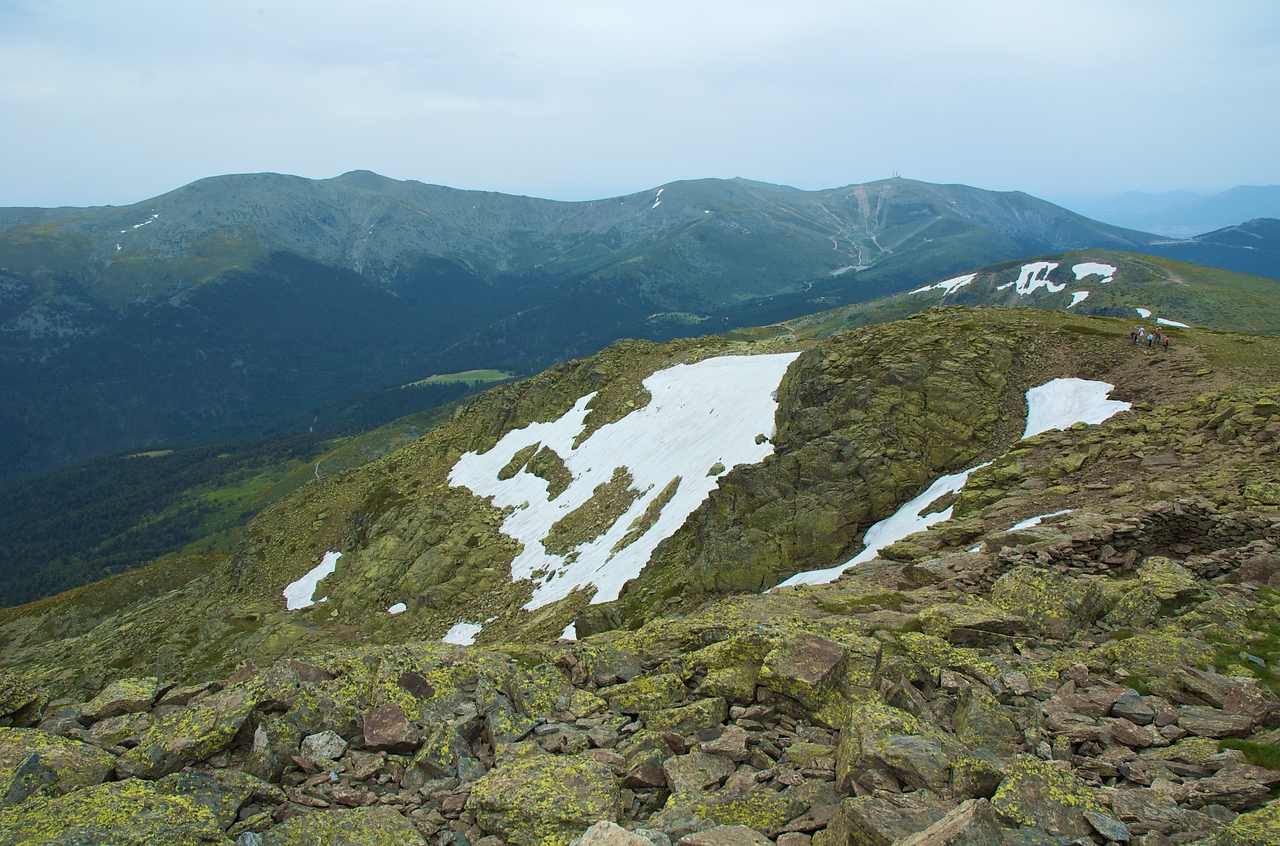 Desde la cima de Peñalara.