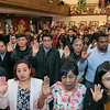 Leominster held its first ever naturalization ceremony on Tuesday, Dec. 17, 2019. 266 individuals became American citizens in a ceremony at City Hall. SENTINEL & ENTERPRISE/JOHN LOVE