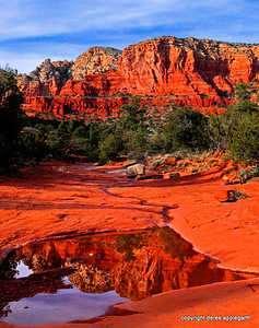Hiking near Bell Rock, Sedona, Arizona