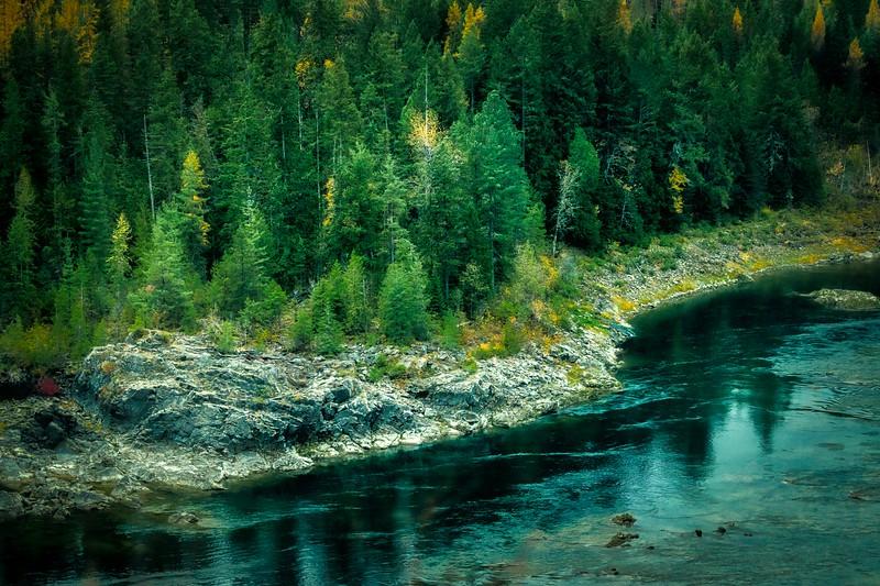 Kootenay River in Autumn