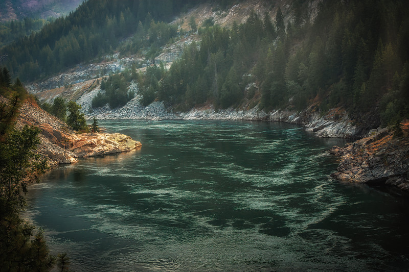 Kootenay River Haze
