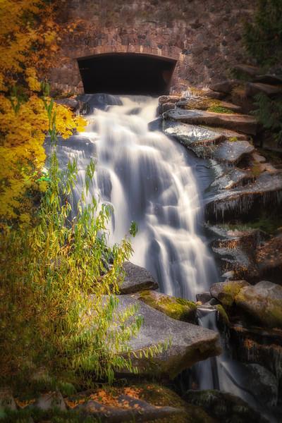 Cottonwood Falls in Autumn