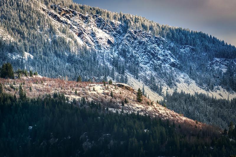 Fresh Snows on Mountain