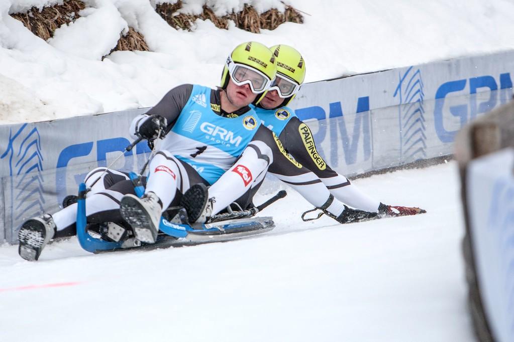 Brüggler_Angerer_Rodel Austria Naturbahn_WM 2017