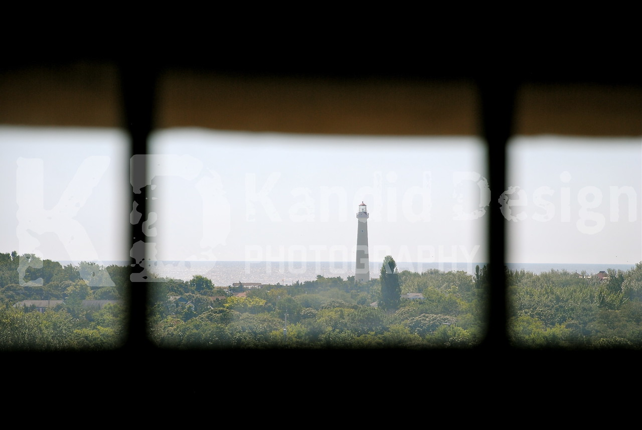 Cape May Lighthouse, from a distance.