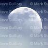 Moon in a cloudy sky, Lafayette, Louisiana 02242018 012