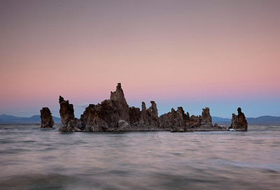 Mono Lake, ca. After sunset. Oct 12, 2013