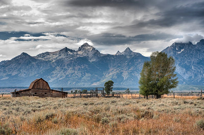 Grand Teton, John Moulton Barn