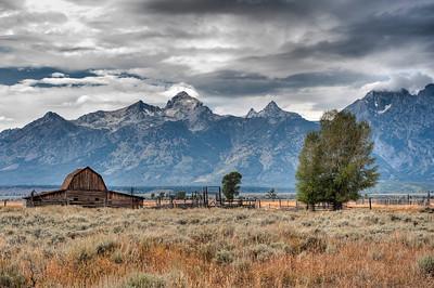 Grand Teton, John Moulton Barn