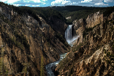 Yellowstone Grand Canyon Waterfalls