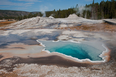 Yellowstone, Old Faithful Geyser Area