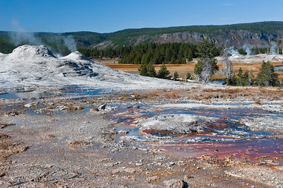 Yellowstone, Old Faithful Gayser Area
