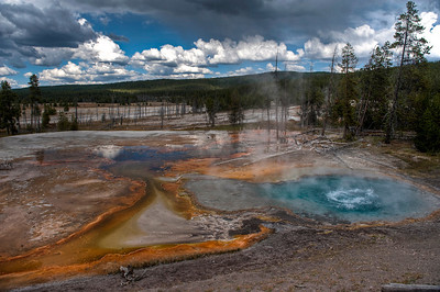 Yellowstone, Firehole Lake Drive