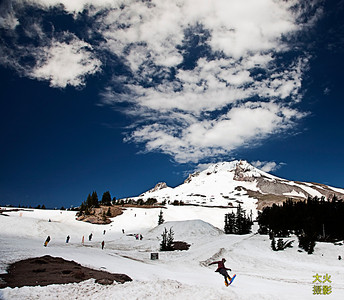 Mt Hood, mount hood oregon. July 10, 2011