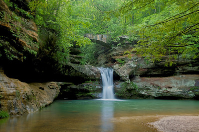 Waterfall Hocking Hills