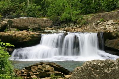 Waterfall at Babcock State Park