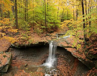 Hen Falls Cuyahoga National Park