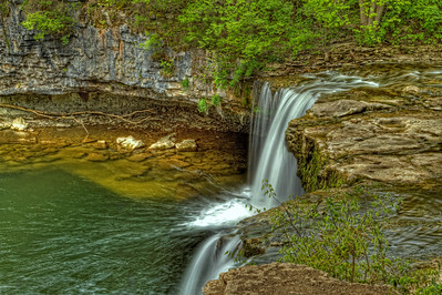 View of Ludlow Falls Ohio